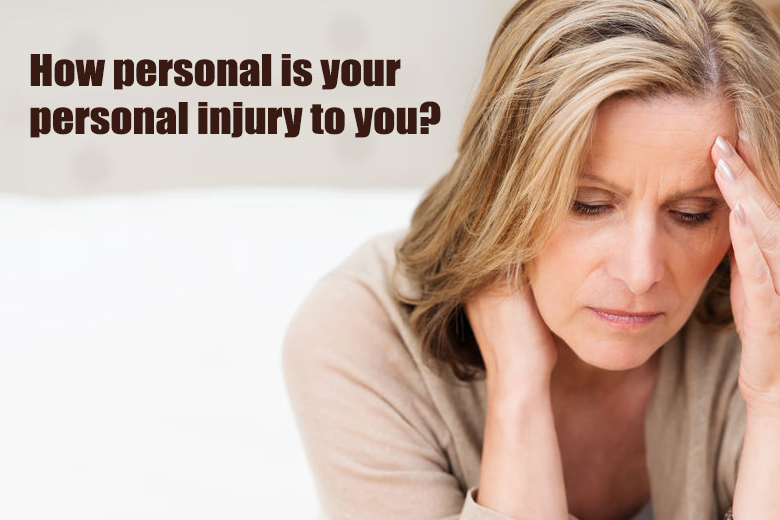 Personal injury, how personal is it?